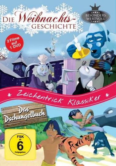 Die Weihnachtsgeschichte / Das Dschungelbuch. DVD.