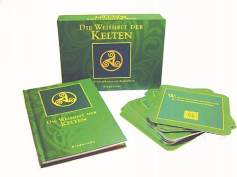 Die Weisheit der Kelten, Buch & 40 Karten