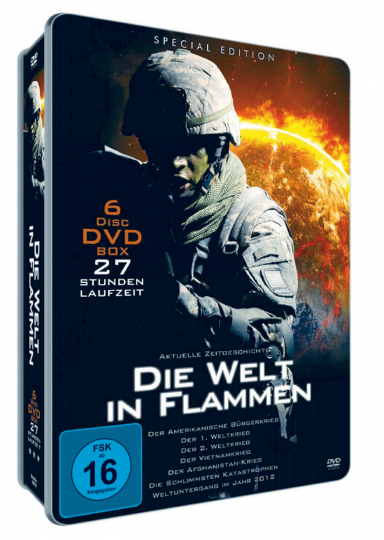 Die Welt in Flammen 6 DVDs