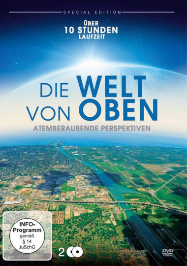 Die Welt von Oben - Atemberaubende Perspektiven (Special Edition). 2 DVDs.