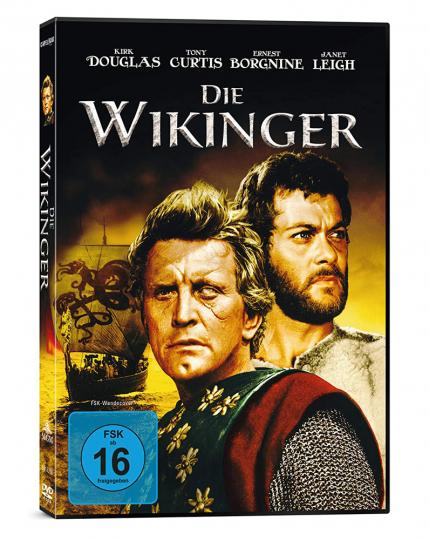 Die Wikinger. DVD.