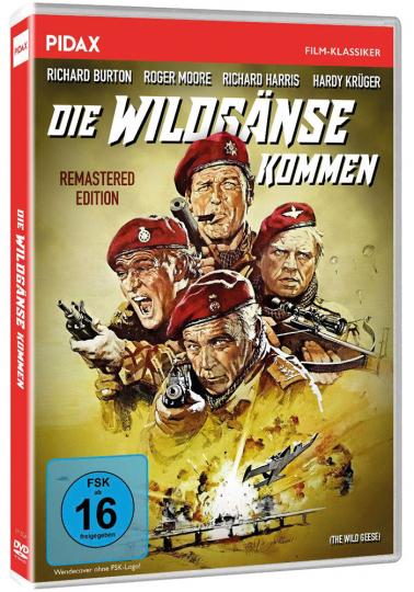 Die Wildgänse kommen. DVD.