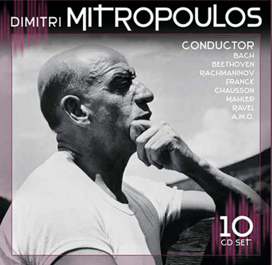 Dimitri Mitropoulos. Dirigent. 10 CD Set.