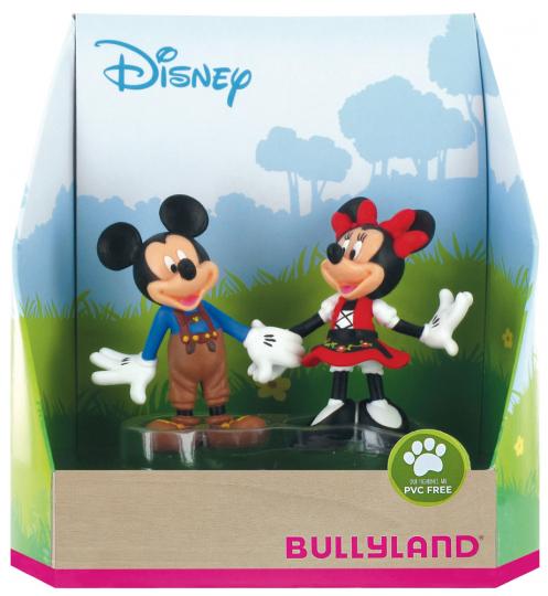 Disneys Mickey und Minnie in Bayern.