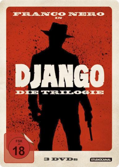 Django I-III  3 DVD-Box