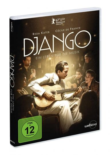 Django. Ein Leben für die Musik. DVD.