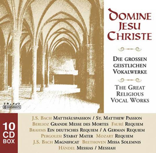 Domine Jesu Christe. 10 CD Set.