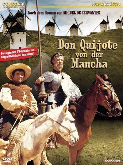 Don Quijote von der Mancha. 2 DVDs