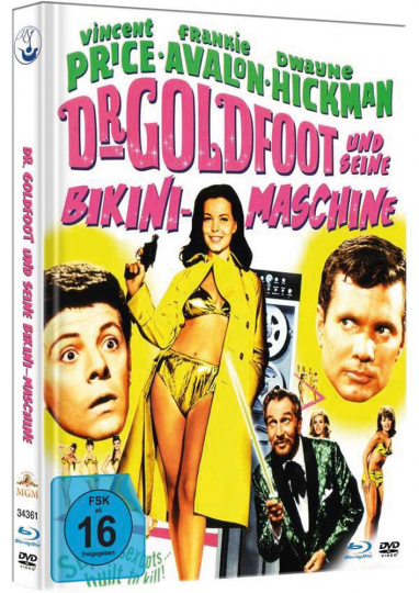 Dr. Goldfoot und seine Bikini-Maschine (Blu-ray & DVD im Mediabook)