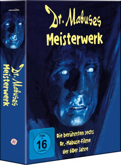 Dr. Mabuses Meisterwerk (6 Mabuse-Filme). 6 DVDs.