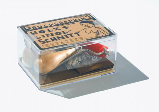 Druckgraphik-Box 1 - Holz- und Linolschnitt