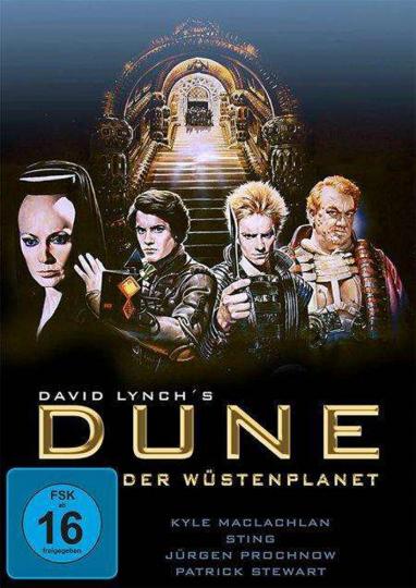 Dune - Der Wüstenplanet. DVD.