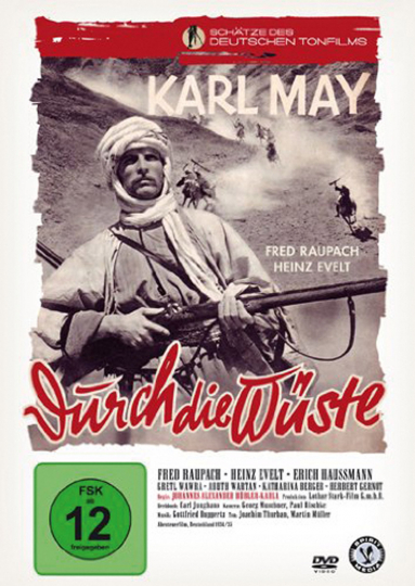 Durch die Wüste. DVD