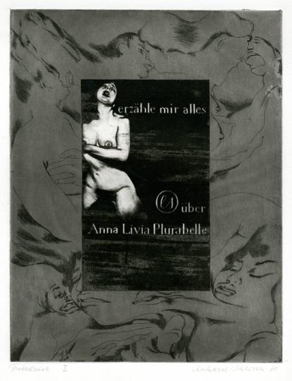 Eberhard Schlotter. »James Joyce, Anna Livia Plurabelle, 1970«.