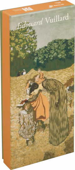 Edouard Vuillard. Postkarten im Panoramaformat in Box.