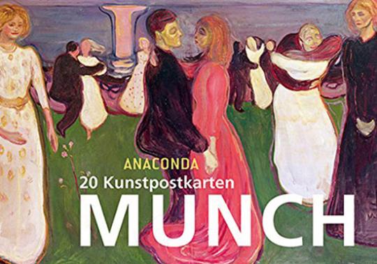 Edvard Munch. 20 Kunstpostkarten.