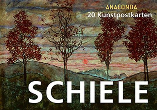 Egon Schiele. 20 Kunstpostkarten.