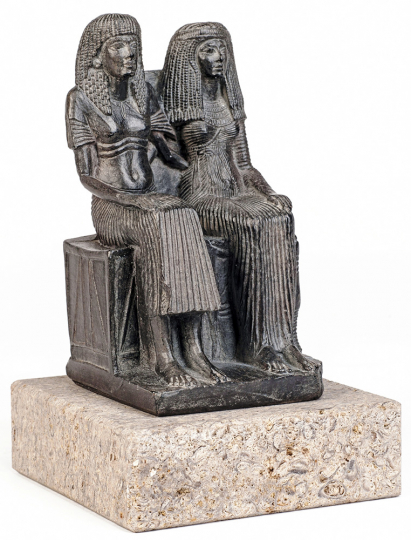 Ehepaar. Ägypten, um 1320 v. Chr.