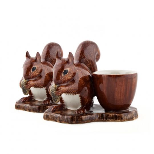Eierbecher »Eichhörnchen« 2er-Set.