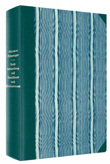 Ein newe Reyßbeschreibung auß Teutschland nach Constantinopel und Jerusalem - Limitierte und numerierte Ausgabe