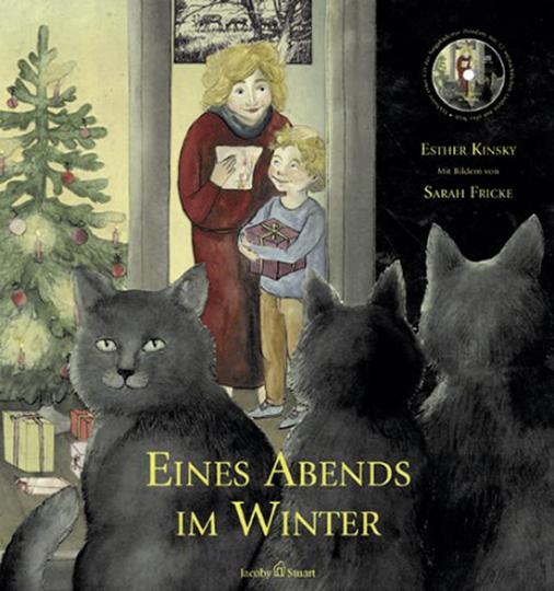 Eines Abends im Winter. Buch mit CD.