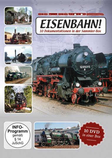 Eisenbahn! 10 Dokumentationen. 10 DVDs.