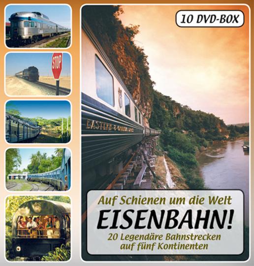 Eisenbahn! - Auf Schienen um die Welt 10 DVDs