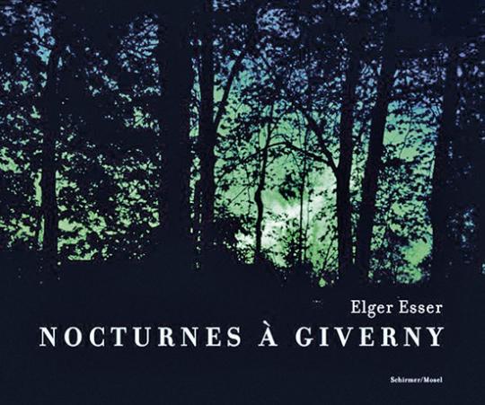 Elgar Esser. Nocturnes à Giverny. Claude Monets Garten. Fotografien.