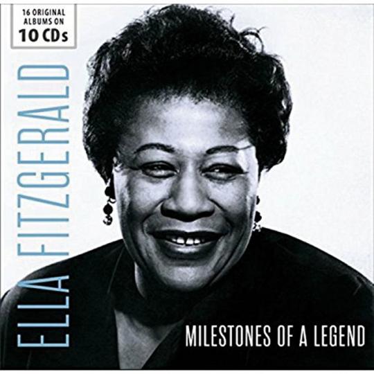 Ella Fitzgerald. Milestones of a Legend. 16 Original Albums. 10 CDs.