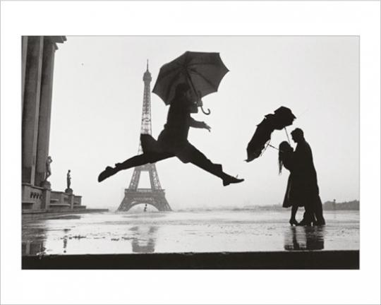 Elliott Erwitt Collector's Edition mit Originalabzug »Paris, 1989«.