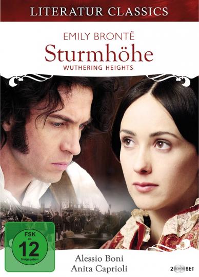 Emily Brontë. Sturmhöhe - Wuthering Heights. Filmreihe Literaturklassiker. 2 DVDs.