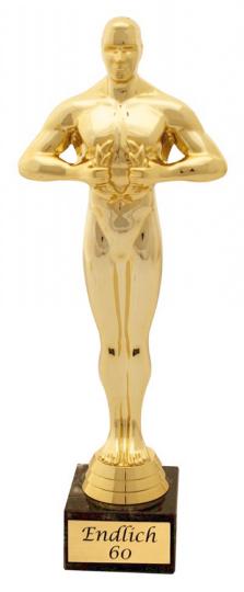 Endlich 60 - Statue 24 cm