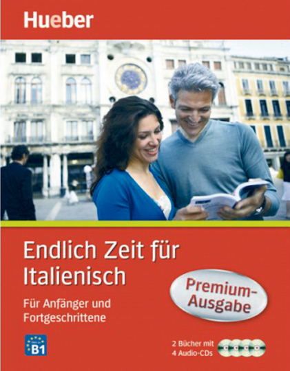 Endlich Zeit für Italienisch - Für Anfänger und Fortgeschrittene - Premiumausgabe: 2 Bücher + 4 Audio-CDs