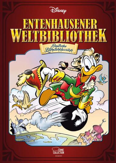 Entenhausener Weltbibliothek Band 1. Deutsche Literaturklassiker.