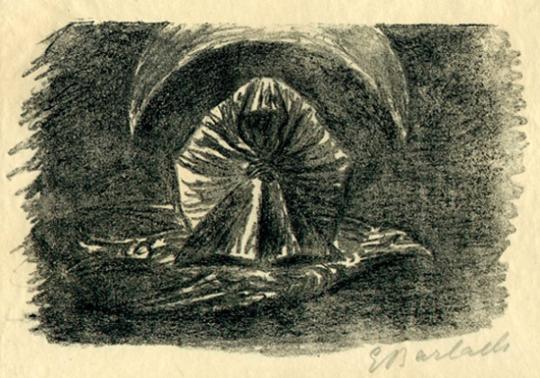 Ernst Barlach. An den Mond II / Mondspuk.