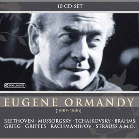 Eugene Ormandy 1899-1985.