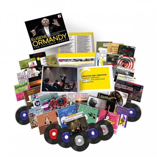 Eugene Ormandy & Philadelphia Orchestra. The Columbia Legacy (Mono-Recordings). 120 CDs.