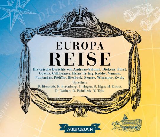 Europareise. 8 CDs.