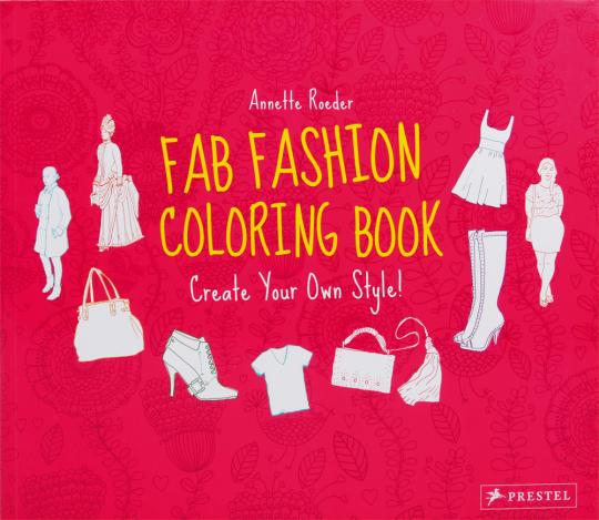 Fab Fashion Coloring Book.