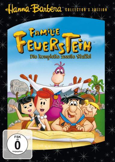 Familie Feuerstein - Staffel 2. 5 DVDs
