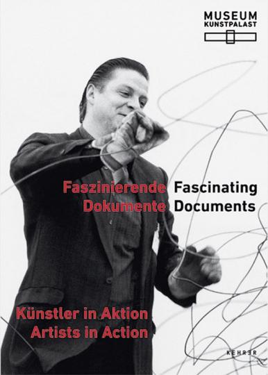 Faszinierende Dokumente. Künstler in Aktion.