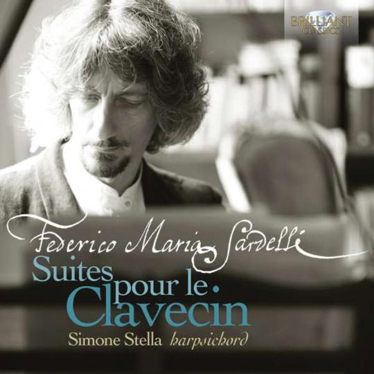 Federico Maria Sardelli. Cembalosuiten Nr. 1-3. CD.