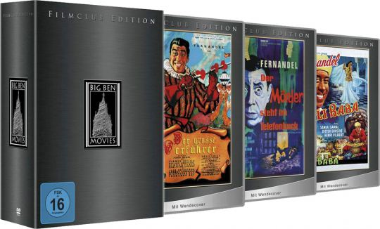 Fernandel Box (Filmclub Edition). 3 DVDs.