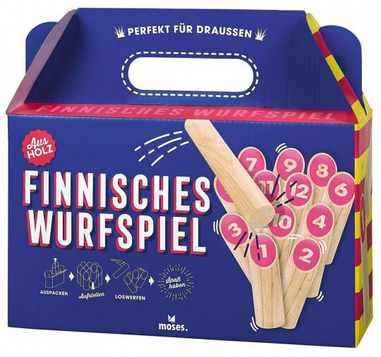 Finnisches Wurfspiel.