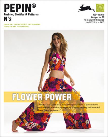 Flower Power. Fashion, Textiles & Patterns. Buch + CD.