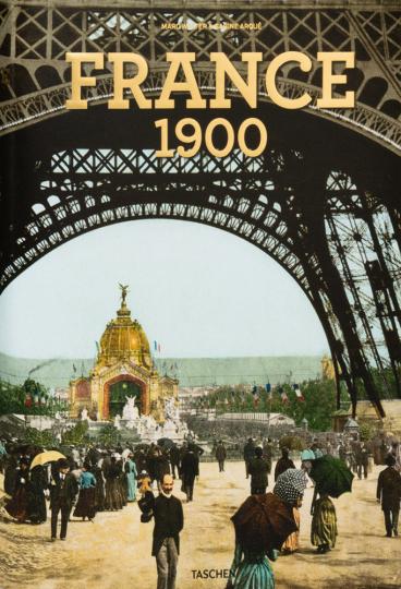 Frankreich um 1900. Ein Portrait in Farbe.