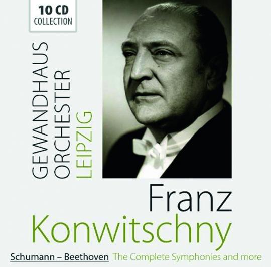 Franz Konwitschny. dirigiert das Gewandhausorchester Leipzig. 10 CDs.