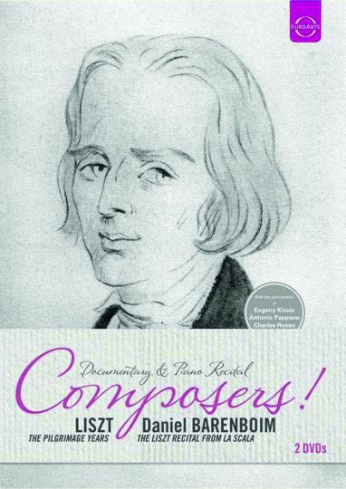 Franz Liszt. Liszt. The Pilgrimage Years & Barenboim - The Liszt Recital From La Scala. 2DVDs.