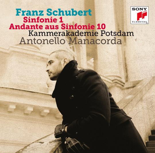 Franz Schubert. Sinfonie 1 & Andante aus Sinfonie 10. CD.