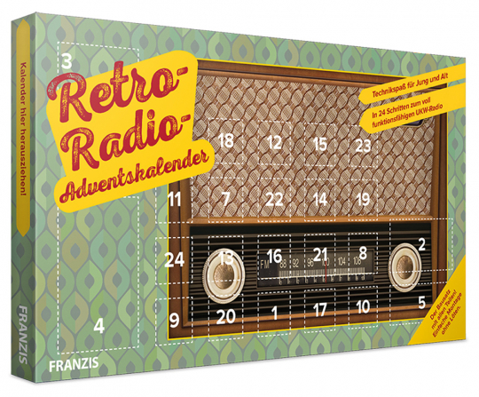 Franzis Retro Radio Adventskalender.